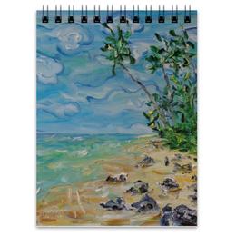 """Блокнот """"Шри Ланка"""" - рай, море, пляж, песок, тропики"""