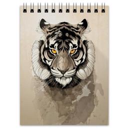 """Блокнот """"Тигр """" - арт, tiger, тигр"""