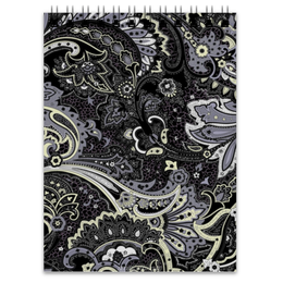 "Блокнот ""Мягкий Контраст"" - узор, узоры, purple, pattern, мягкий контраст"