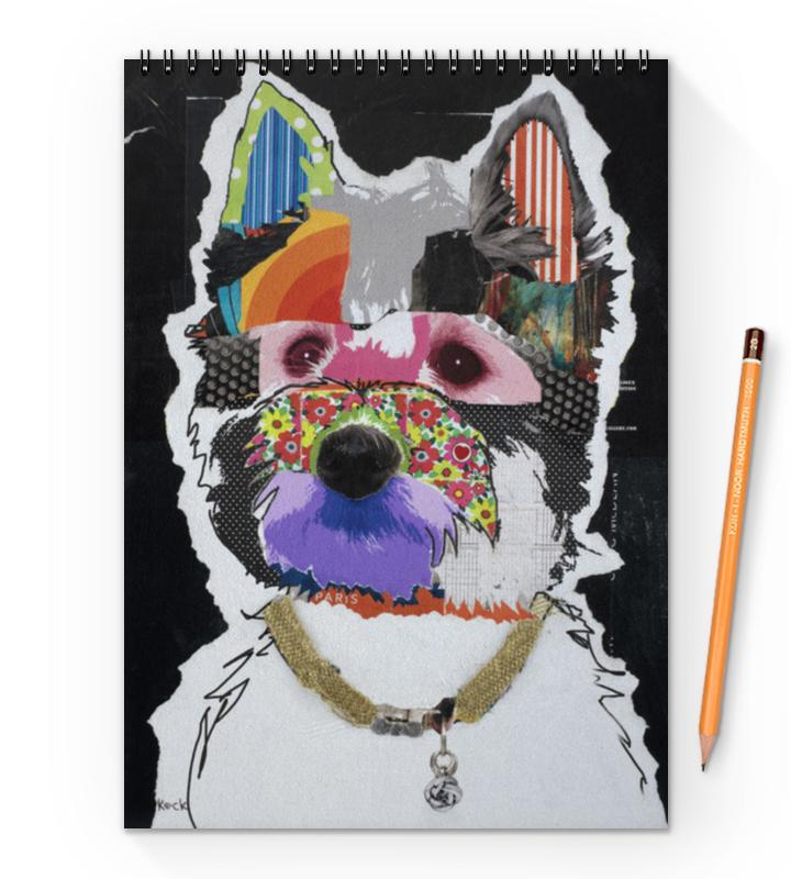 Блокнот на пружине А4 Printio Doggy блокнот на пружине а4 printio doggy