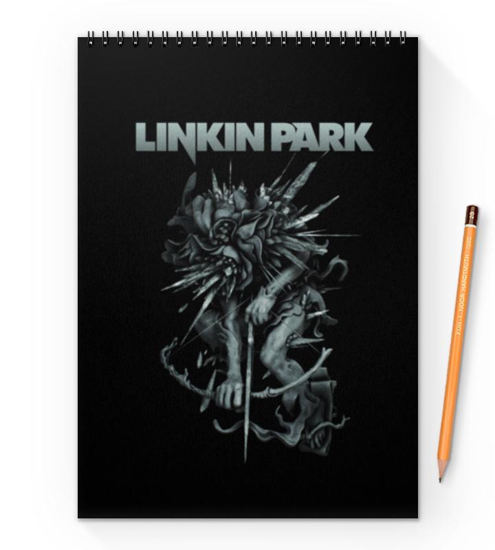 Блокнот на пружине А4 Printio Linkin park тетрадь на пружине printio linkin park