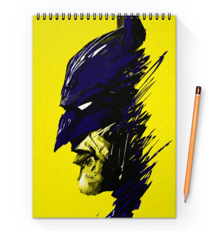 Блокнот на пружине А4 Printio Бэтмен цена