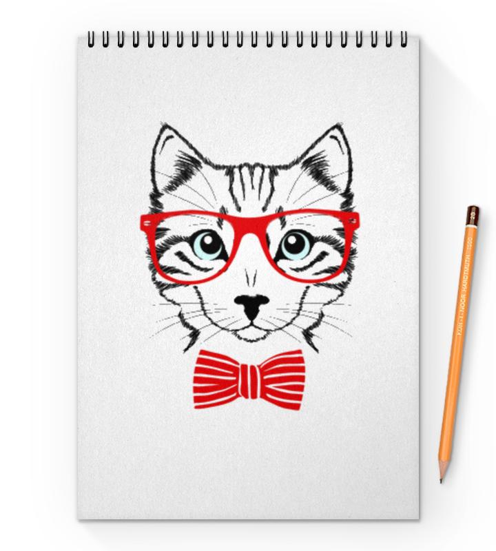 Блокнот на пружине А4 Printio Кошка блокнот printio кошка