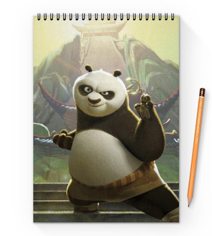 Printio Кунг-фу панда блокнот printio сказочная панда