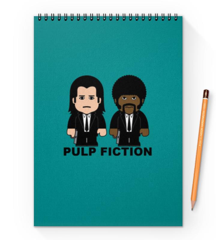 Блокнот на пружине А4 Printio Pulp fiction блокнот на пружине а4 printio чародейки witch autumn