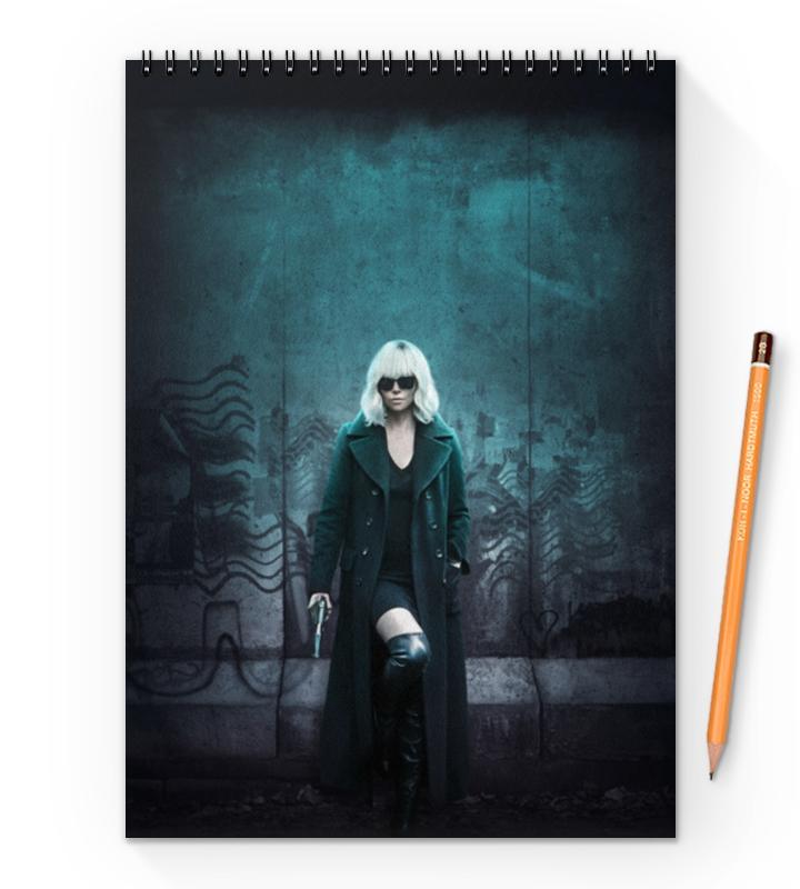 Блокнот на пружине А4 Printio Взрывная блондинка борис херсонский одесский дневник 2015–2016 взрывная волна