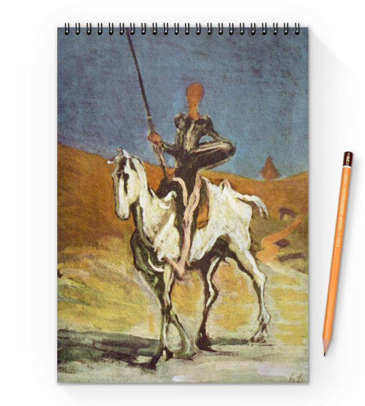 Printio Дон кихот (картина оноре домье) живопись оноре домье