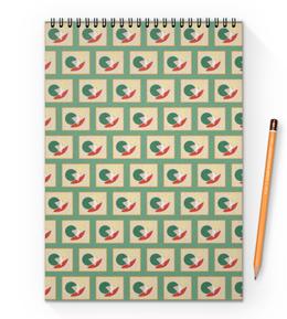 """Блокнот на пружине А4 """"Фигуры&Цвет"""" - арт, рисунок, дизайн, абстракция, иллюстрация"""