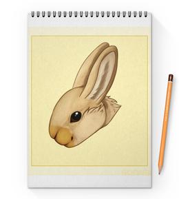 """Блокнот на пружине А4 """"Кролик"""" - кролик"""