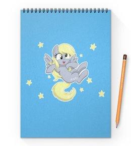 """Блокнот на пружине А4 """"My little pony (Derpy)"""" - мультфильм, my little pony, derpy, для детей, мой маленький пони"""
