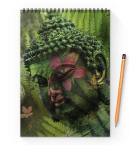 "Блокнот на пружине А4 ""Будда "" - природа, buddha, будда, буддизм, духовность"