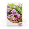 "Пакет 15.5х22х5cм ""тюльпан"" - арт, цветы, стиль, рисунок"