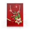 "Пакет 15.5х22х5cм ""9 мая"" - праздник, цветы, 9 мая, день победы, орден"