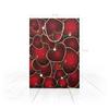 """Пакет 25x35x8cм """"СЕРДЕЧНЫЙ РИТМ"""" - любовь, сердца, абстракция, стиль эксклюзив креатив красота яркость, арт фэнтези"""