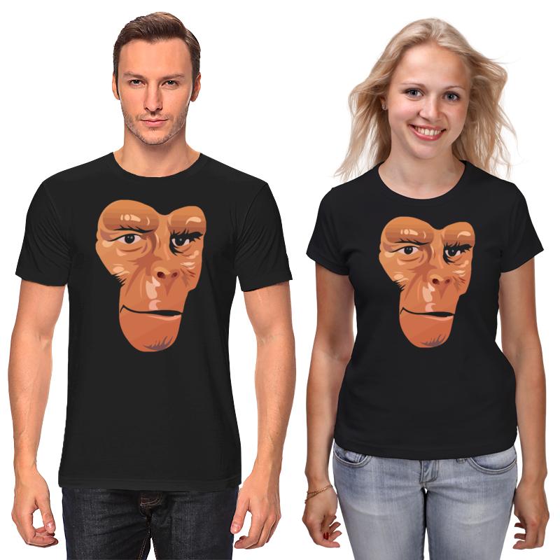 Футболки парные Printio Обезьяна (планета обезьян) детская футболка классическая унисекс printio обезьяна планета обезьян