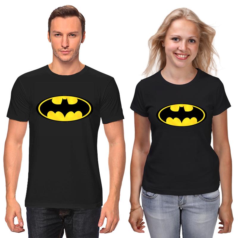 Футболки парные Printio Бетмен футболки