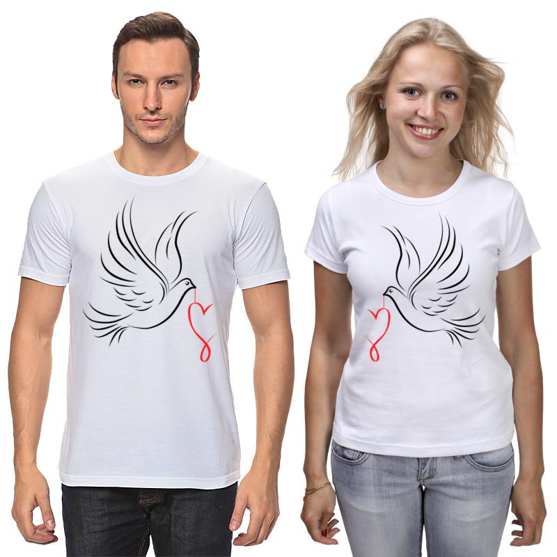 Printio Влюбленные птички printio влюбленные птички парные футболки