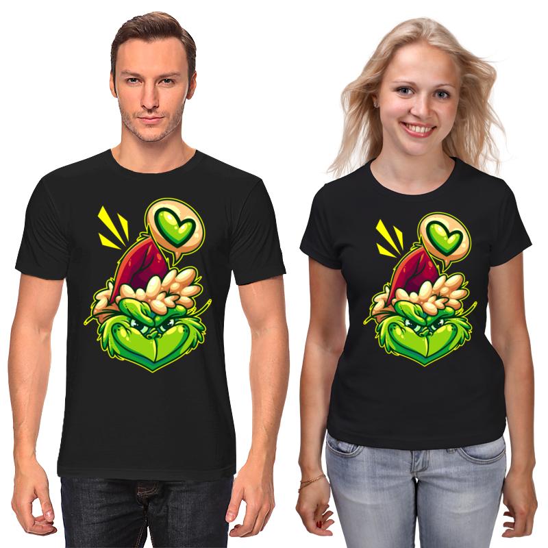 Футболки парные Printio Гринч футболки