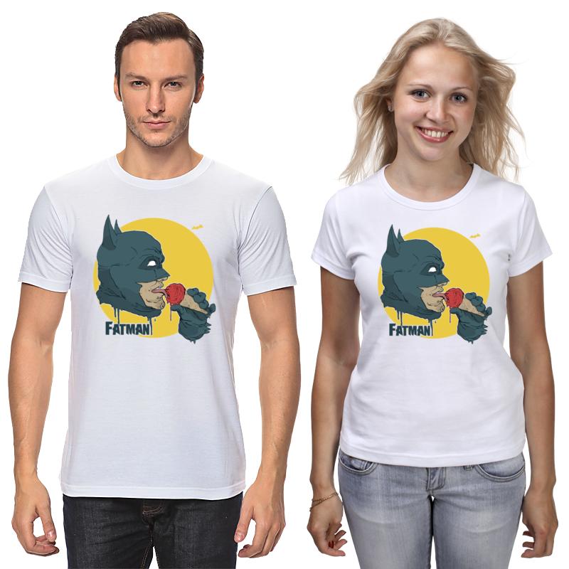 Футболки парные Printio Бэтмен (batman) футболки