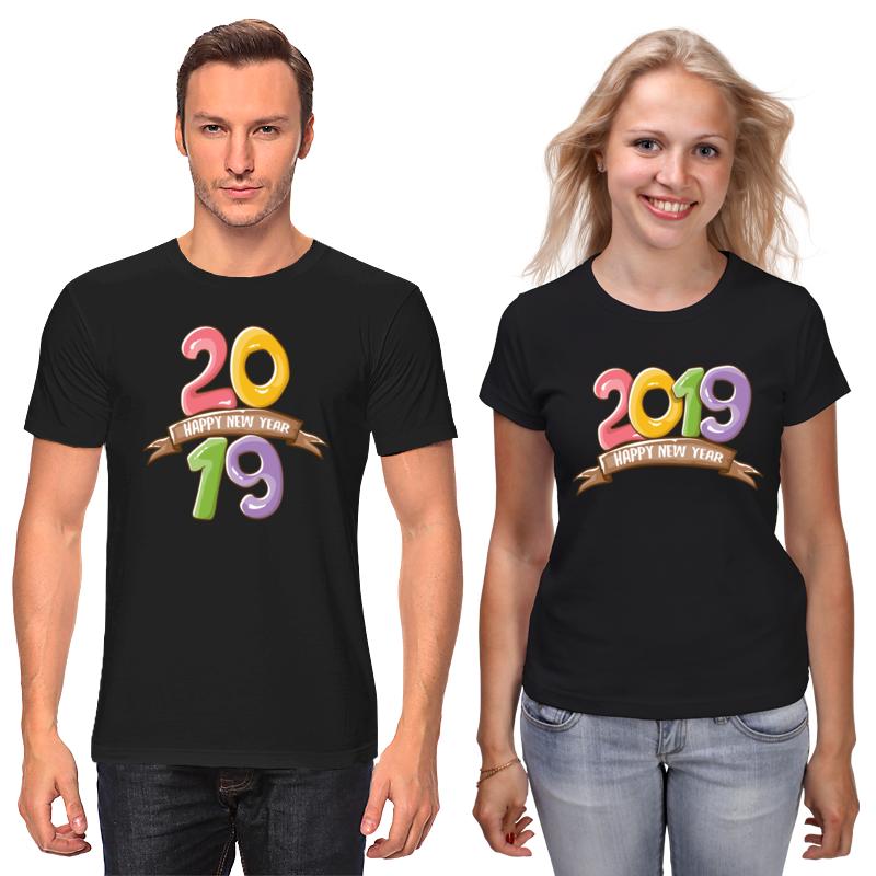 Футболки парные Printio Новый год футболки