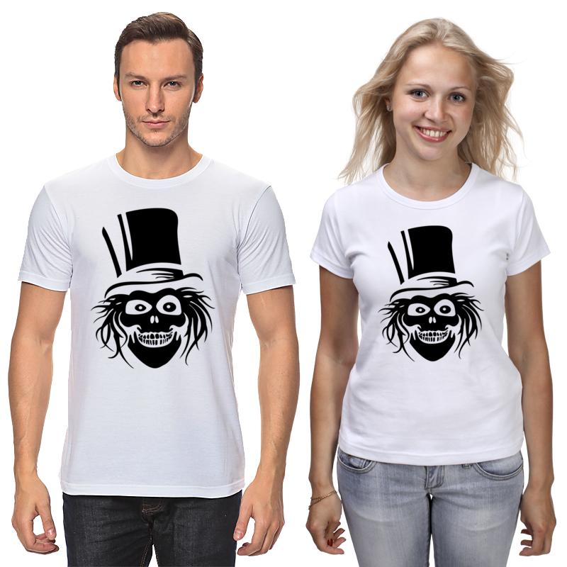 Футболки парные Printio Череп футболки