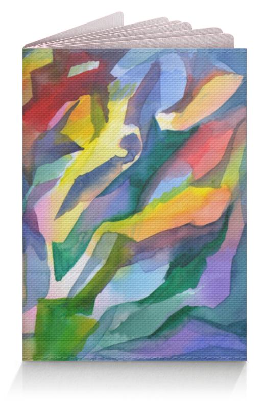 Printio Обложка в джунглях акварели подвесной светильник maytoni bellevue p535pl 01pn