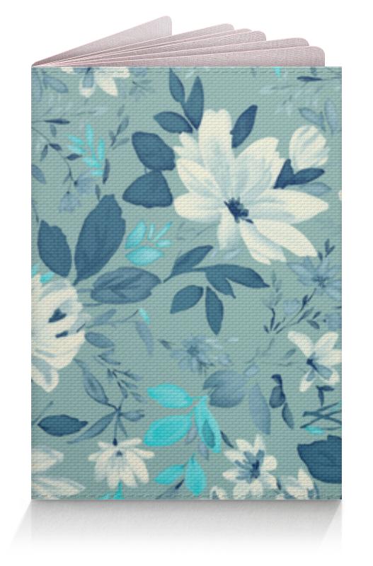 Обложка для паспорта Printio Цветы. акварель чехол для ноутбука 14 printio цветы акварель