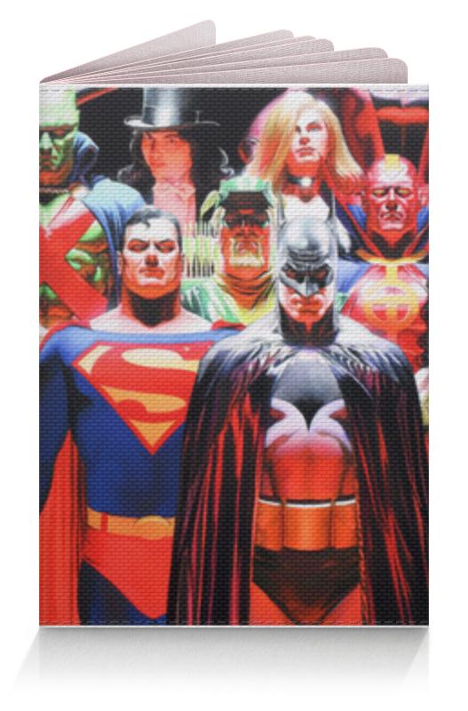 Обложка для паспорта Printio Justice league/лига справедливости футболка рингер printio лига справедливости justice league