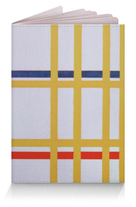 Обложка для паспорта Printio Нью-йорк 1 (питер мондриан) коврик для мышки сердце printio нью йорк 1 питер мондриан