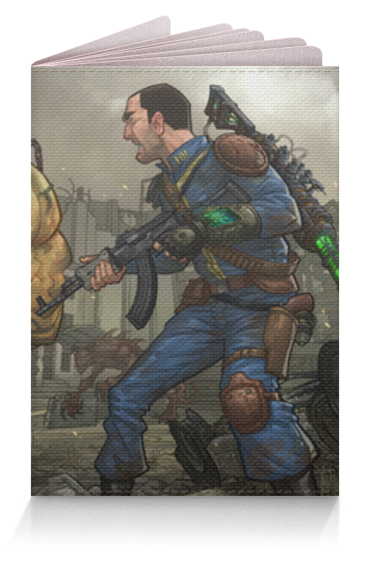 Обложка для паспорта Printio Fallout (фэллаут) футболка классическая printio fallout фэллаут