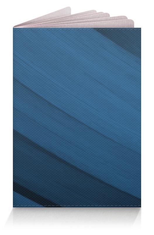 Обложка для паспорта Printio Синяя абстракция обложка для паспорта printio абстрактный фон