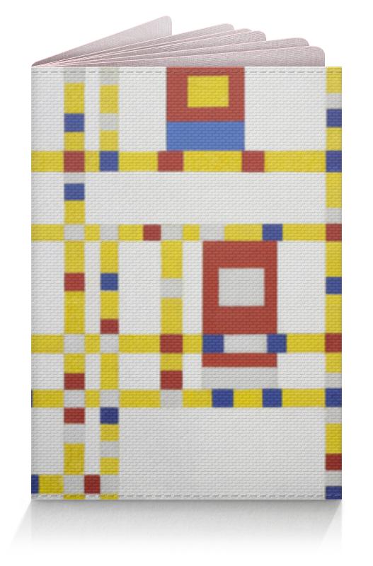 Обложка для паспорта Printio Бродвей буги-вуги (питер мондриан) чехол для samsung galaxy s5 printio бродвей буги вуги питер мондриан