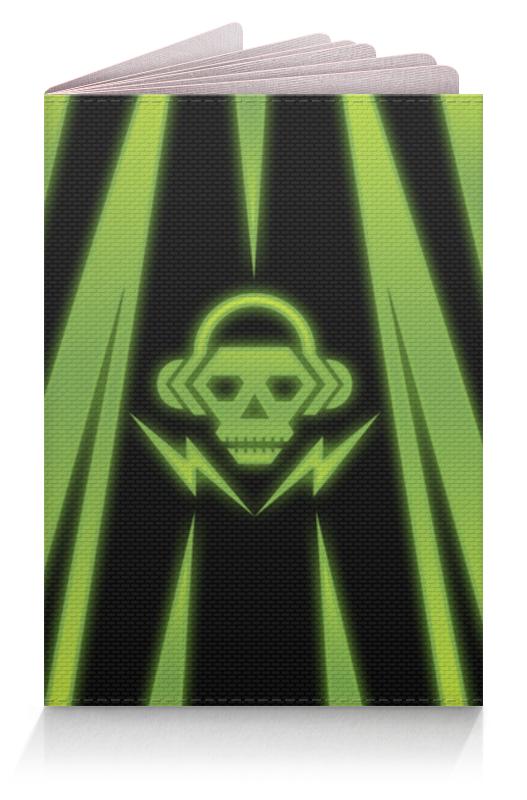 Обложка для паспорта Printio Skull