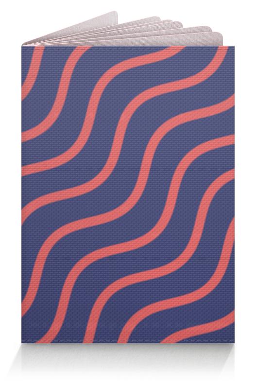 Обложка для паспорта Printio Волнистый