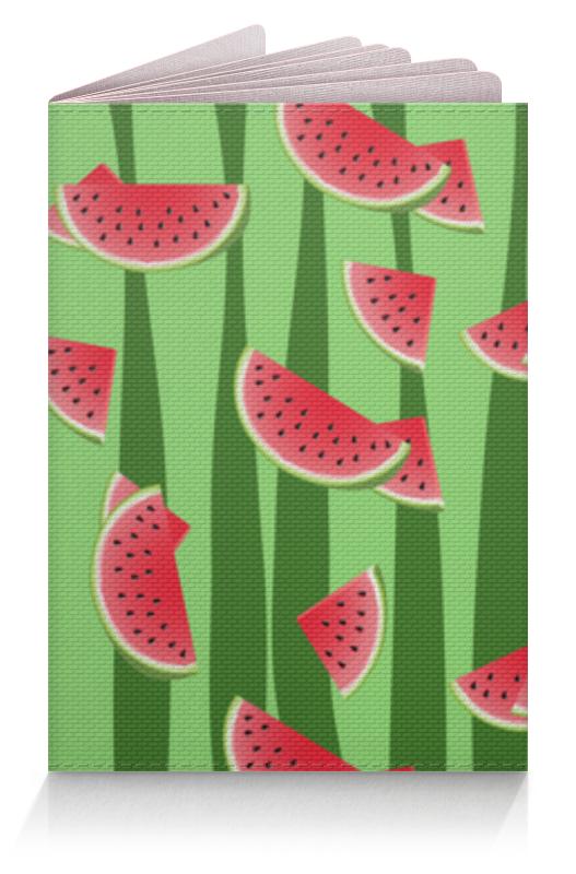 Обложка для паспорта Printio Арбуз освежающие конфеты rondo арбуз 30г