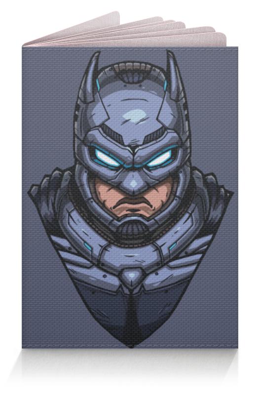 Обложка для паспорта Printio Armored batman / бэтмен в броне лонгслив printio ice king x batman