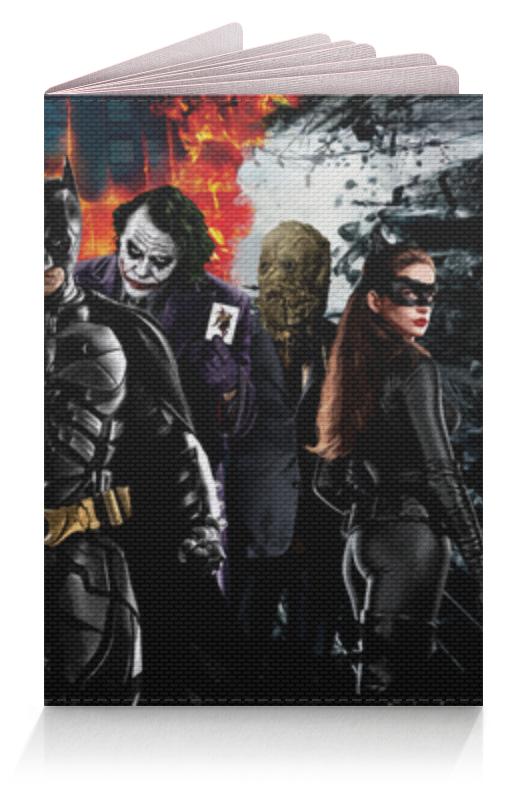 Обложка для паспорта Printio Batman (бэтмен) обложка для паспорта printio batman arkham knight
