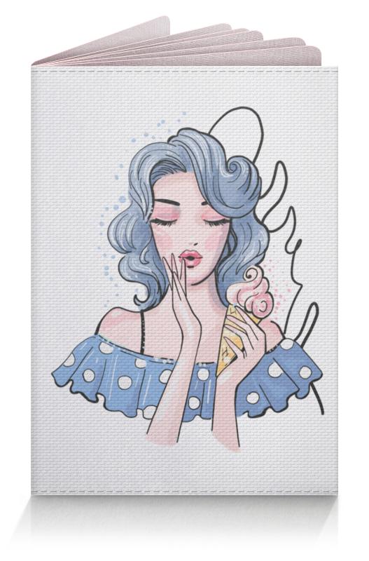 Printio Девушка с мороженым. пин ап. фэшн иллюстрация printio фэшн иллюстрация пин ап поп арт