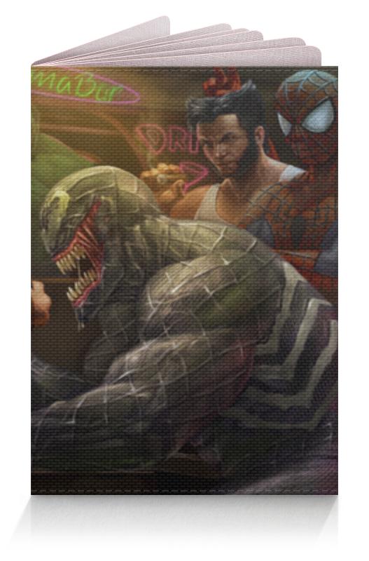 Обложка для паспорта Printio Marvel обложка для паспорта printio демон сидящий