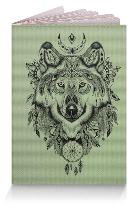 Printio Тотем. волк обложка для паспорта printio тотем сокол