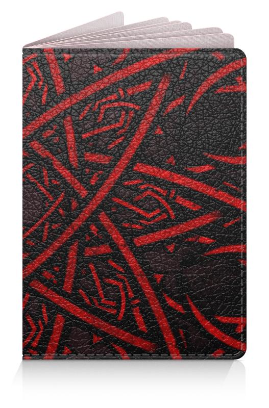 Обложка для паспорта Printio Солнце барс v76