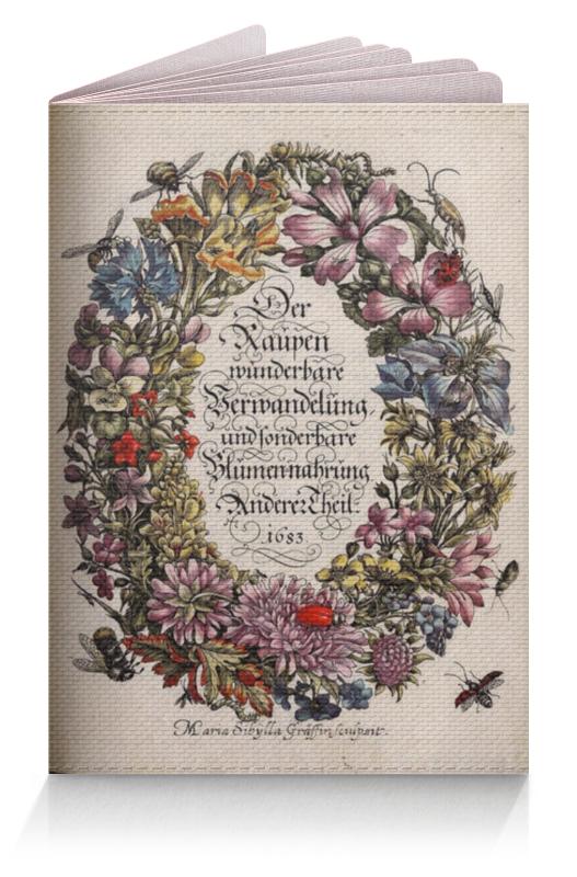 Обложка для паспорта Printio Винтажные цветы обложка для паспорта printio цветы