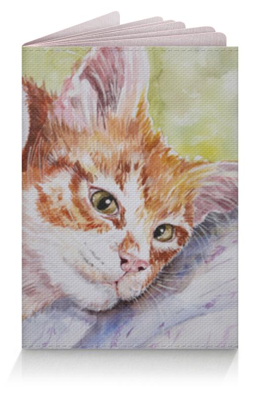 Обложка для паспорта Printio Доброе кошачье утро! татьяна рик доброе утро имя прилагательное