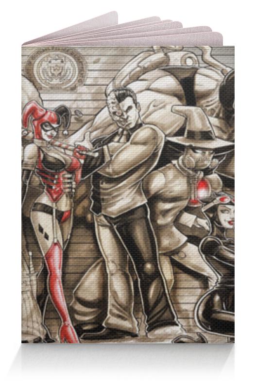 Обложка для паспорта Printio Враги бэтмена