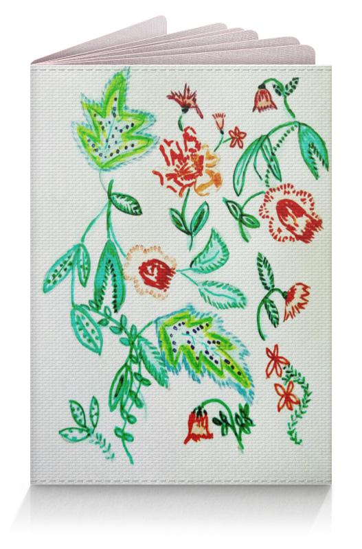 Обложка для паспорта Printio Дикие цветы обложка для паспорта printio нежные цветы