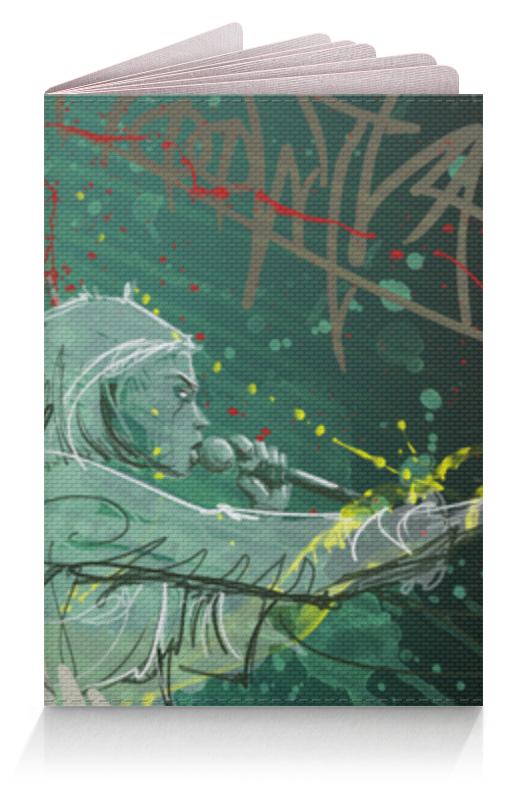 Обложка для паспорта Printio Die antwoord нож рейв