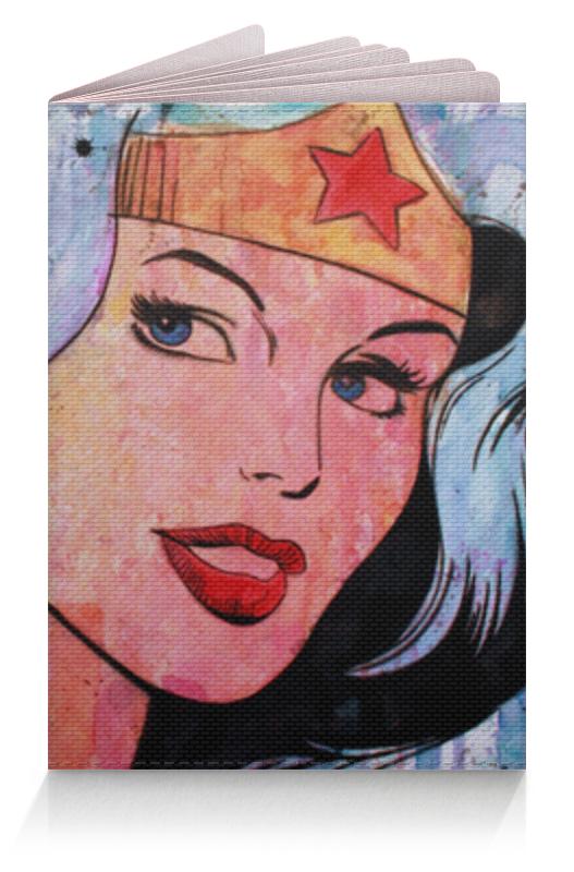 Обложка для паспорта Printio Чудо-женщина (wonder woman) чехол для iphone 6 глянцевый printio чудо женщина wonder woman