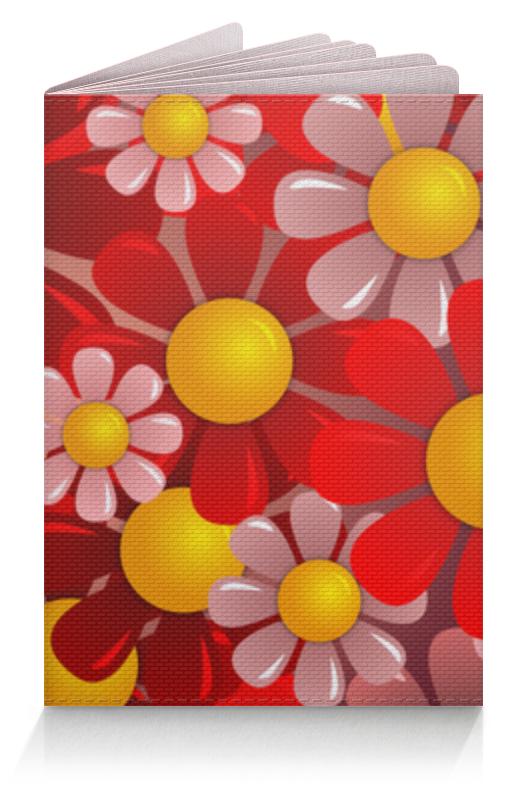Обложка для паспорта Printio Ромашки обложка для паспорта printio бабочки
