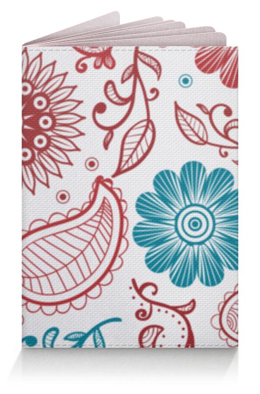 Обложка для паспорта Printio Цветочная обложка для паспорта printio цветочная поляна