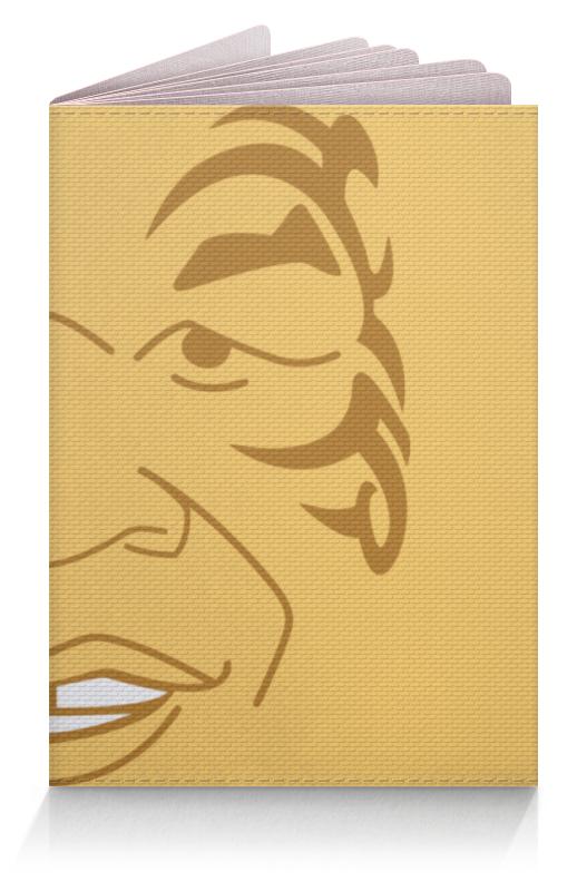 Обложка для паспорта Printio Майк тайсон (mike tyson)